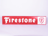 1960S-EARLY 70S FIRESTONE TIRES TIN SIGN