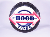 1940S-50S HOOD TIRES THREE-DIMENSIONAL TIN SIGN