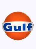 VINTAGE GULF OIL LIGHT-UP SIGN