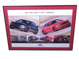 FORD SHELBY GT350 MUSTANG SHOWROOM SALES POSTER