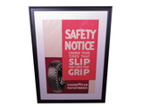 1930S GOODYEAR PATHFINDER TIRES SAFETY NOTICE POSTER