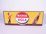 CIRCA LATE 1940S-EARLY 1950S NICHOL KOLA TIN SIGN