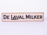 1930S DE LAVAL MILKER TIN PAINTED SIGN