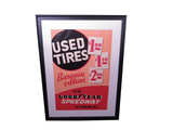 1930S GOODYEAR USED TIRES SALES POSTER