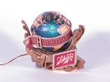 1960S SCHLITZ BAR BACK TAVERN SIGN WITH ANIMATED WORLD GLOBE