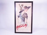 LATE TEENS MECCA CIGARETTES FRAMED ADVERTISING POSTER