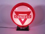 1950S CONOCO GAS PUMP GLOBE