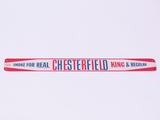 EARLY 1960S CHESTERFIELD TIN PAINTED SIGN