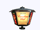 CIRCA 1960S CANADIAN CLUB LIGHTED SIGN