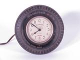 1930S GOODRICH COUNTERTOP TIRE-SHAPED ELECTRIC CLOCK