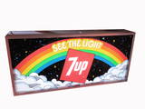 EARLY 1970S 7UP LIGHT-UP SIGN
