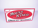 1940S MOUNT KINEO BEVERAGES TIN SIGN