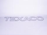 1930S-40S TEXACO OIL TANKER PORCELAIN LETTER SIGN