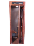 1930S BELL TELEPHONE WOODEN PHONE BOOTH