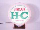 1950S SINCLAIR H-C GASOLINE GAS PUMP GLOBE
