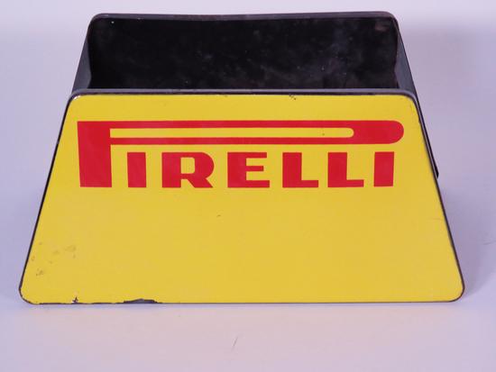 1960s PIRELLI TIRES PORCELAIN TIRE DISPLAY HOLDER