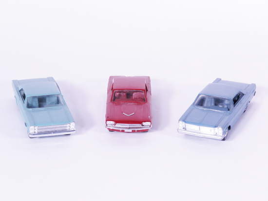 LOT OF THREE 1960S FORD DEALER PROMOTIONAL CARS