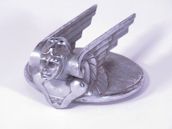 1929-31 CHEVROLET WINGED FIGURE HOOD ORNAMENT