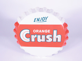 1950S ORANGE CRUSH SODA THREE-DIMENSIONAL TIN SIGN