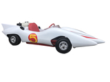 HAND-BUILT PROTOTYPE SPEED RACER MACH 5 MINI-CAR