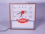 1960S NESBITTS ORANGE SODA LIGHT-UP CLOCK