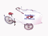 VINTAGE GOOD HUMOR ICE CREAM VENDORS BICYCLE