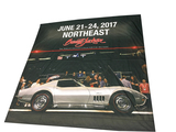 ADDENDUM ITEM - AUTHENTIC BARRETT-JACKSON NORTH EAST 2017 EVENT STAGE PROMOTIONAL BANNER.