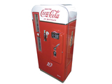 1950S COCA-COLA VENDO 81 COIN-OPERATED SODA MACHINE