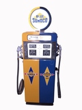 LATE 1950S SUNOCO OIL WAYNE 505 DUAL-DISPENSING GAS PUMP