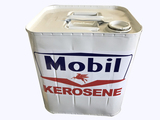 WORLD WAR II-ERA KEROSENE CAN IN MOBIL GAS REGALIA