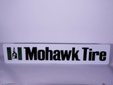 VINTAGE MOHAWK TIRE TIN SIGN