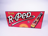 1930S DRINK R-PEP SODA TIN SIGN