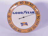 1950S GOODYEAR GLASS-FACED DIAL THERMOMETER