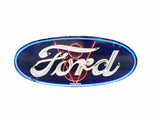 1930S FORD NEON PORCELAIN SIGN