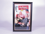 1940S DR. PEPPER CARDBOARD SIGN