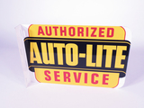 1940S-50S FORD AUTO-LITE TIN FLANGE SIGN