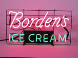 1950S BORDENS ICE CREAM NEON SIGN