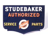 1940S STUDEBAKER AUTHORIZED SERVICE-PARTS MASONITE SIGN