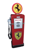 1957 BOWSER SERVICE DEPARTMENT GAS PUMP IN FERRARI REGALIA