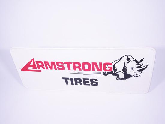 ARMSTRONG TIRES TIN SIGN