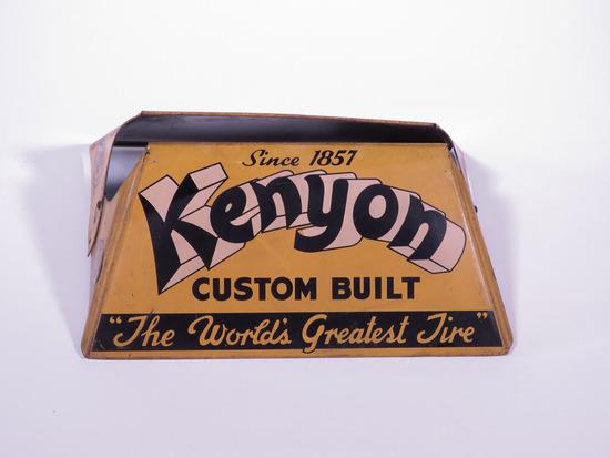 1940S KENYON TIRES METAL TIRE DISPLAY