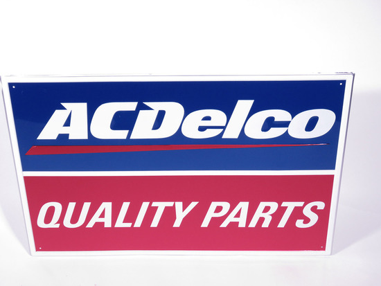 VINTAGE ACDELCO QUALITY PARTS TIN SIGN