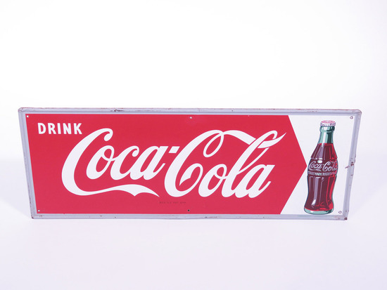 EARLY 1950S COCA-COLA TIN SIGN