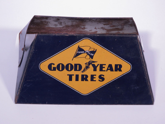 1940S GOODYEAR TIRES METAL TIRE DISPLAY