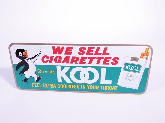 1960S KOOL CIGARETTES TIN SIGN