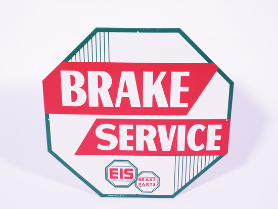 1960S EIS BRAKE SERVICE TIN SIGN