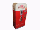 EARLY 1950S COCA-COLA COIN-OPERATED SODA MACHINE