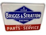 VINTAGE BRIGGS & STRATTON ENGINES LIGHT-UP SIGN