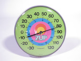 1970S 7UP SODA THERMOMETER