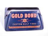 1940S GOLD BOND TIRES METAL TIRE DISPLAY